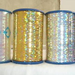 4 Spools of LUREX High Quality Thread 3000 Mtrs each