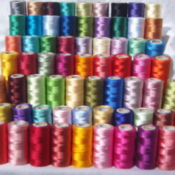 100 Embroidery Threads  for Brother,Janome & many more