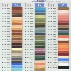 174 New ANCHOR Thread. 174 different colors Great valuue