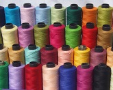 25 Spools of SEWING 100% PURE COTTON THREAD