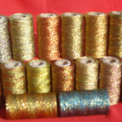 15 Metallic Multic Gold Twisted Spools 350 YARDS EACH