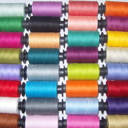 30 Spools of SEWING 100% PURE COTTON THREAD