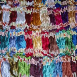 50 Art Silk Stranded Embroidery Skeins 50 diff colors
